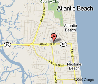 Atlantic Beach Bailey's Location