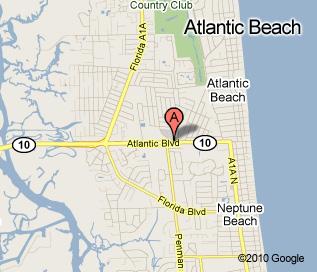 Atlantic Beach Bailey's Location