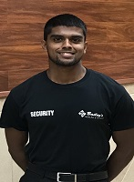 Security Employee Charaka Mallakarachchi