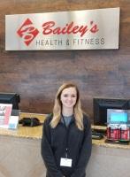 Cashier Hailey Kegley