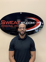 Sweat PT Manager Mike Evans