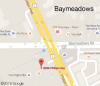 Baymeadows Road location Map, located at 8206-1 Philips Highway