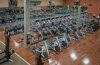 Jacksonville Beach location aerial view of cardio equipment