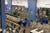 Gainesville location Aerial View of Cardio Equipment